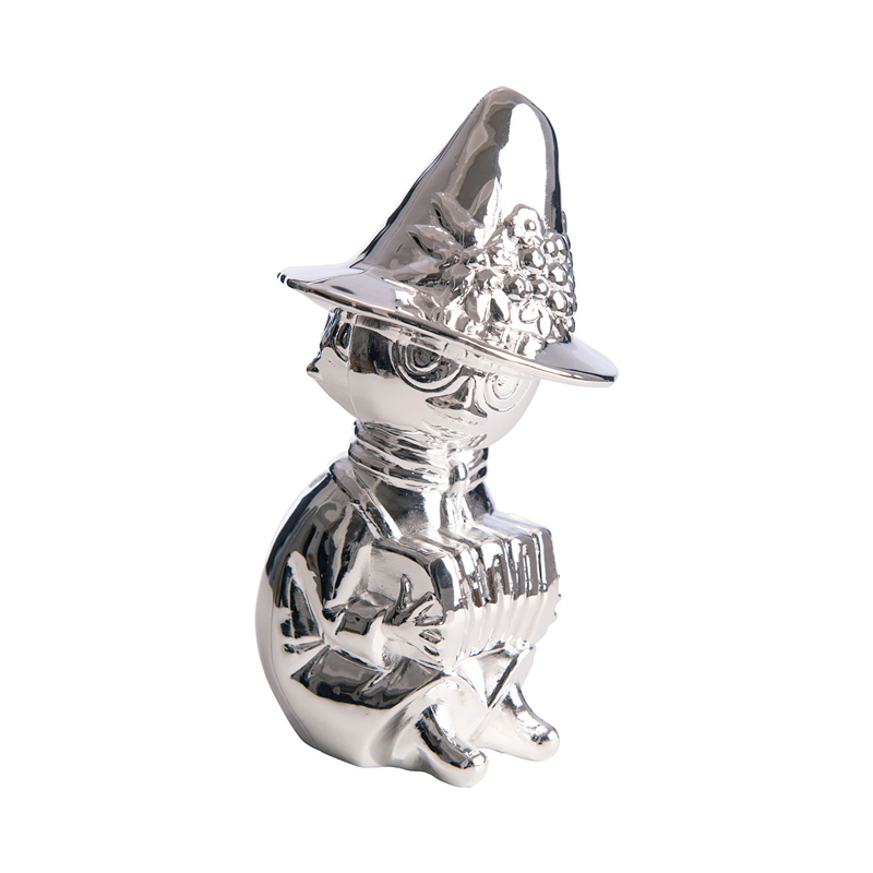Image of   Sparebøsse Mumrikken i sølvplet