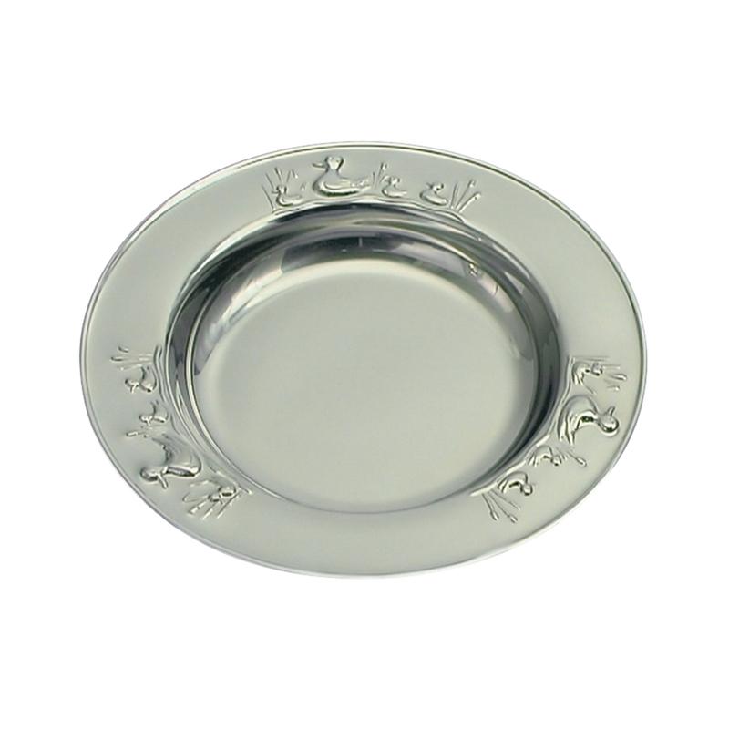 Børneservice sølvplet