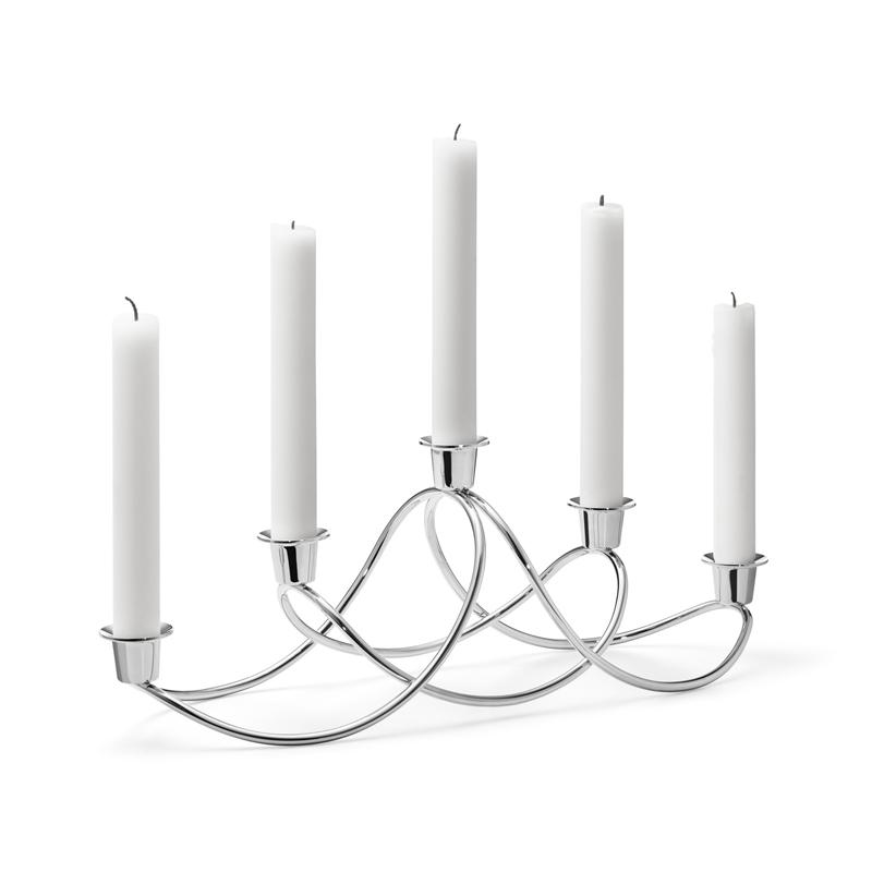 Image of   Georg Jensen HARMONY lysestage, stål