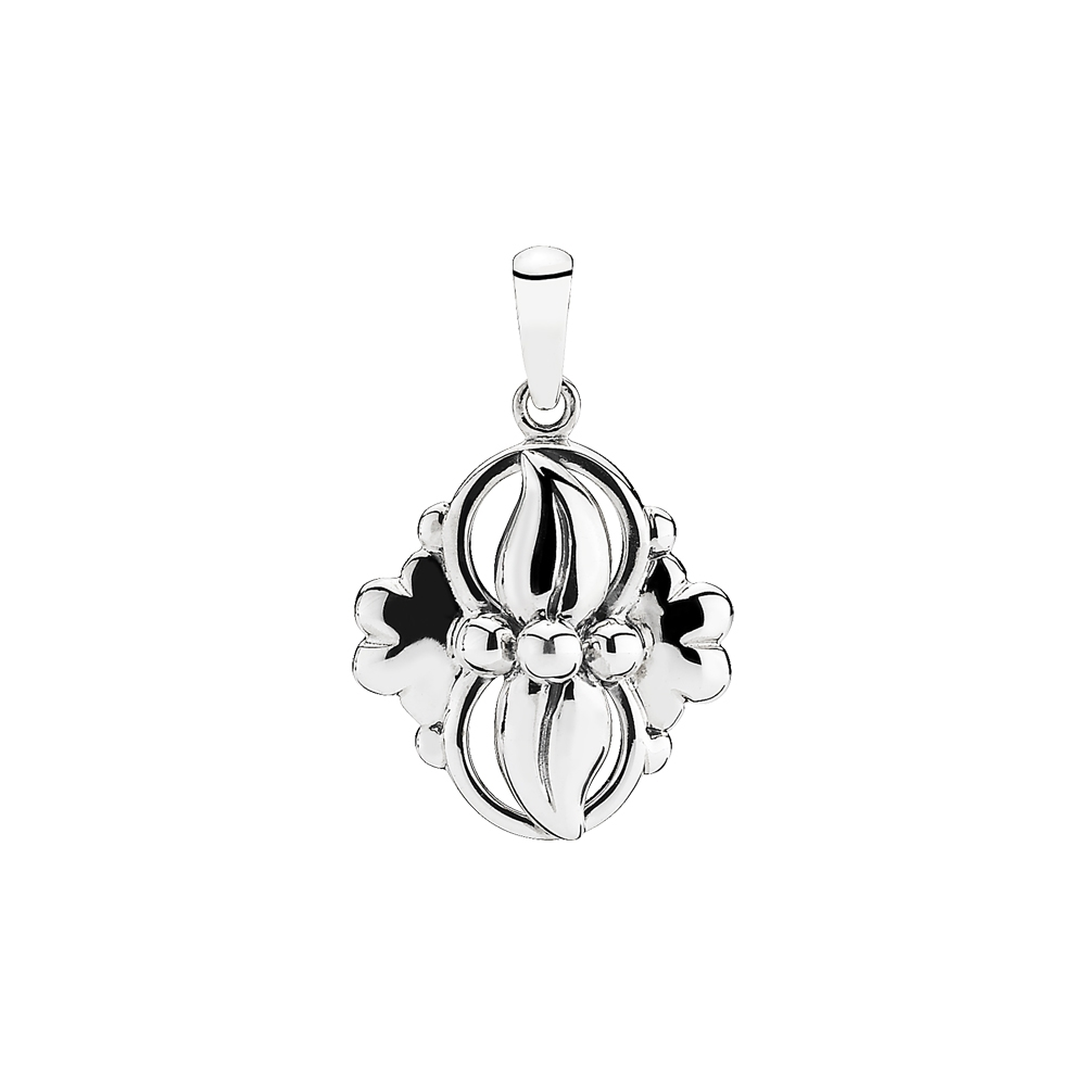 Image of   LUND Copenhagen sølv vedhæng i klassisk design