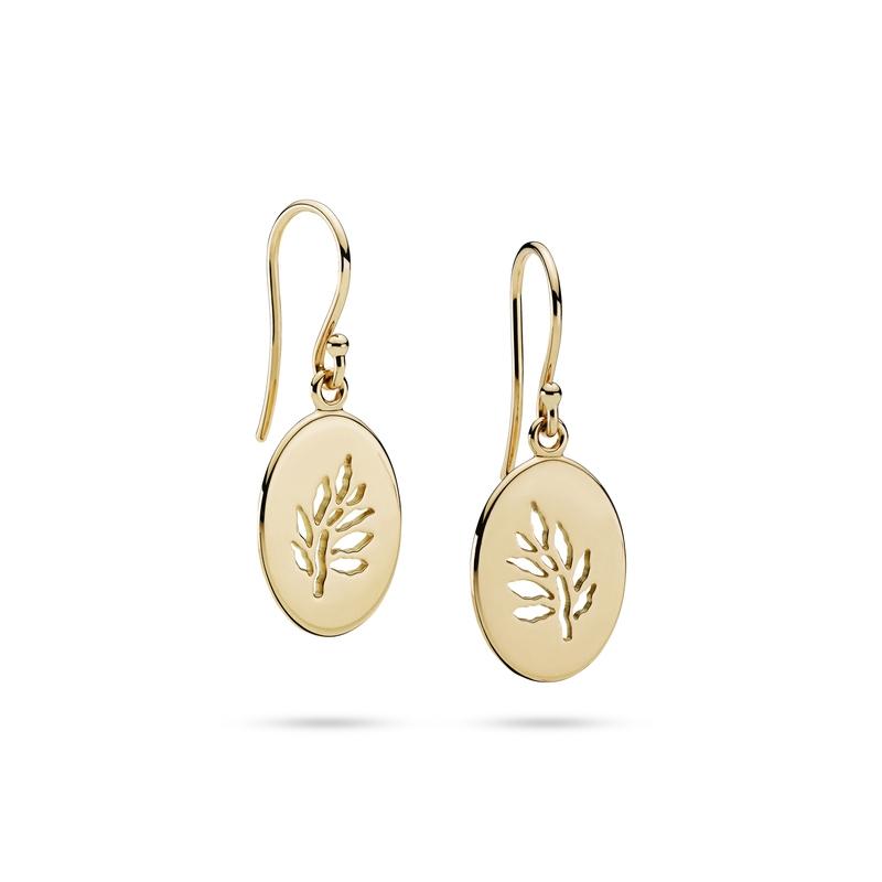 Julie Sandlau Legacy ørehængere i 18 karat guld