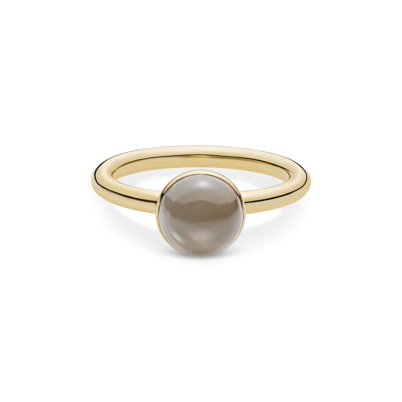 Image of   Julie Sandlau Lumina Ring i guld med månesten